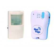 PIR MOVEMENT SENSOR ALARM WITH RADIO PAGER MPPL-MSKIT