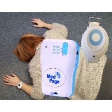 MPPL-FA6P Wrist worn fall detector with touch-sensor call button