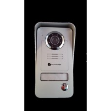 Wireless video doorbell camera with portable colour monitor with on-demand caller recording YB38W