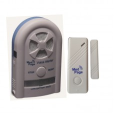CTMV-MED-DCT Recordable voice alarm receiver with wireless door contact alarm