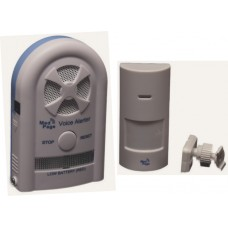 CTMV-MEDPIR2 Recordable voice alarm receiver with wireless movement sensor