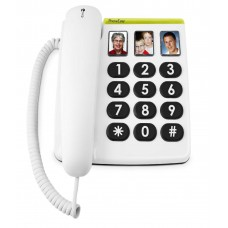Doro PhoneEasy® 331ph Big button telephone with one-touch photo-dial buttons