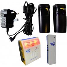 FT47C-DTXMK Photoelectric break beam sensor alarm kit with wireless alarm responder