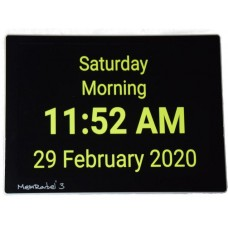 MemRabel 3 Touch screen memory prompting alarm calendar clock