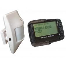 MS2EM300 POCSAG Message programmable long transmission range PIR with data pager