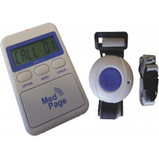 PAG-11-ULC11 Splash proof call pendant button with caller display alarm pager