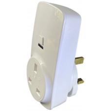 RFWFS1 Wi-Fi Smart Plug for use with Amazon Alexa, Google Home with integral RF remote control receiver